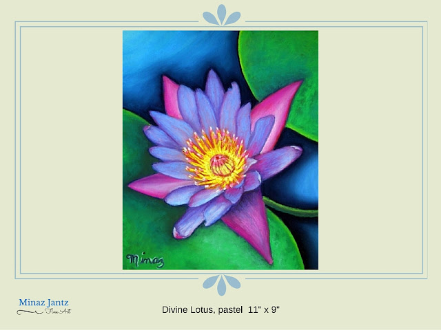 Divine Lotus by Minaz Jantz