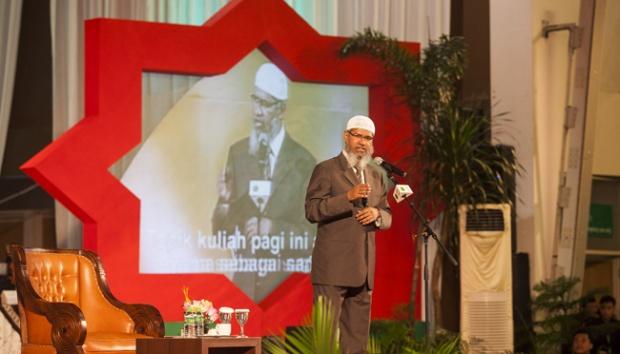 Ceramah Zakir Naik, Para Tokoh Nonmuslim Berada di Barisan VVIP