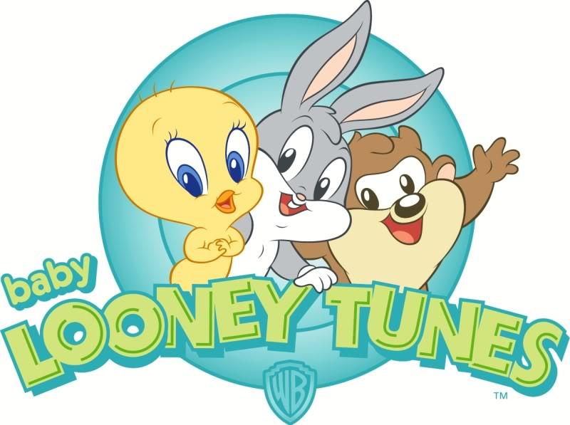 Tarjetas De Invitación Looney Tunes Bebés Imagui