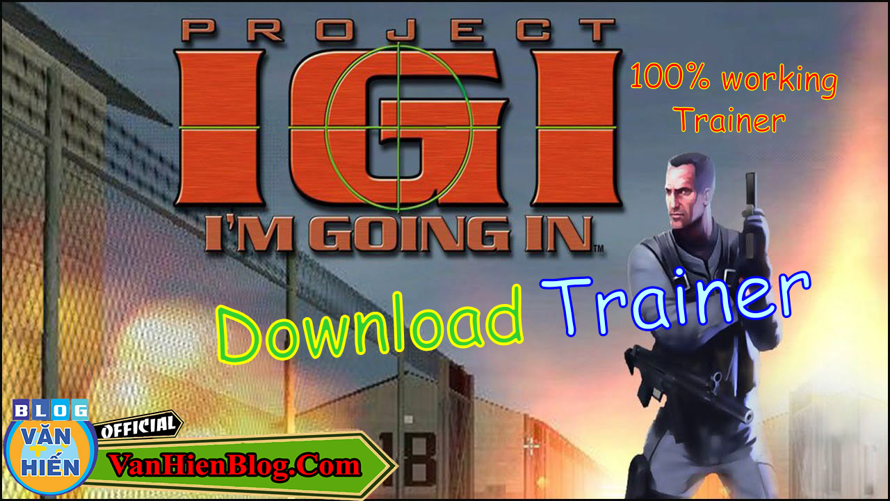 Download IGI 1 I'm Going In Game Trainer And Saves