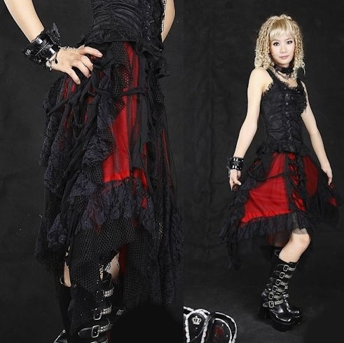 DevilInspired Gothic Punk Dresses When Meets Style