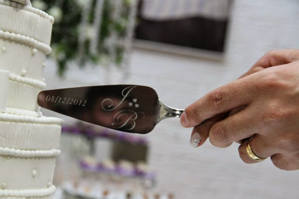 ideias criativas para casamento espatula personalizada