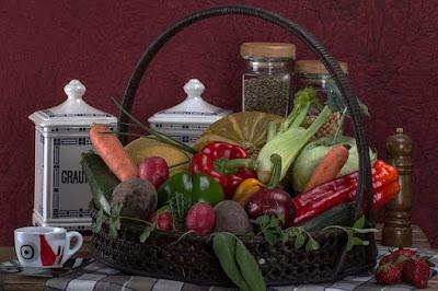 Receta de cocina casera de espirales de apio y zanahorias a la vinagreta de sidra