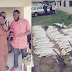 Abia Lawmaker Mandela Obasi empowers his constituents with cutlass and hoe