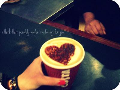 falling in love in a coffee shop
