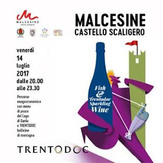 Fish and Trentodoc Sparkling Wine 14 luglio Malcesine (VR)
