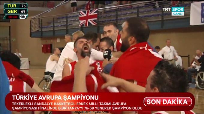Engel tanımadılar Avrupa şampiyonu oldular.