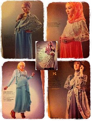 Model Baju Muslim Ibu Hamil dan Menyusui Modern Terbaru