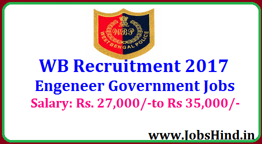 West Bengal Police Recruitment 2017