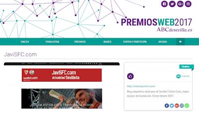 premios web ABC de Sevilla