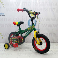 12 Inch Wimcycle Reggae Kids Bike