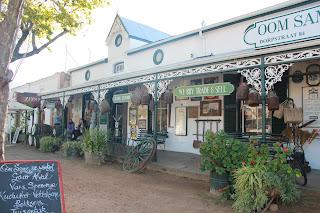 Laden in der Dorpstraat in Stellenbosch