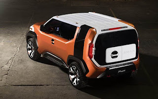 Toyota FT-4X SUV Concept Rear Top