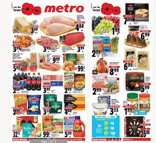 Metro flyer this week November 9 - 15 , 2017