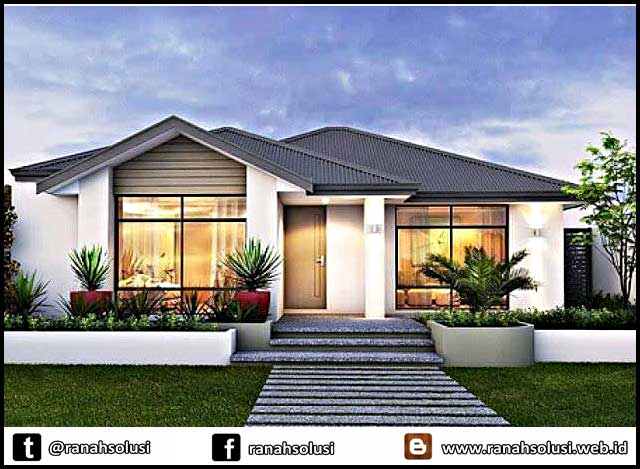 Gambar Rumah Minimalis Terbaru yang Mewah