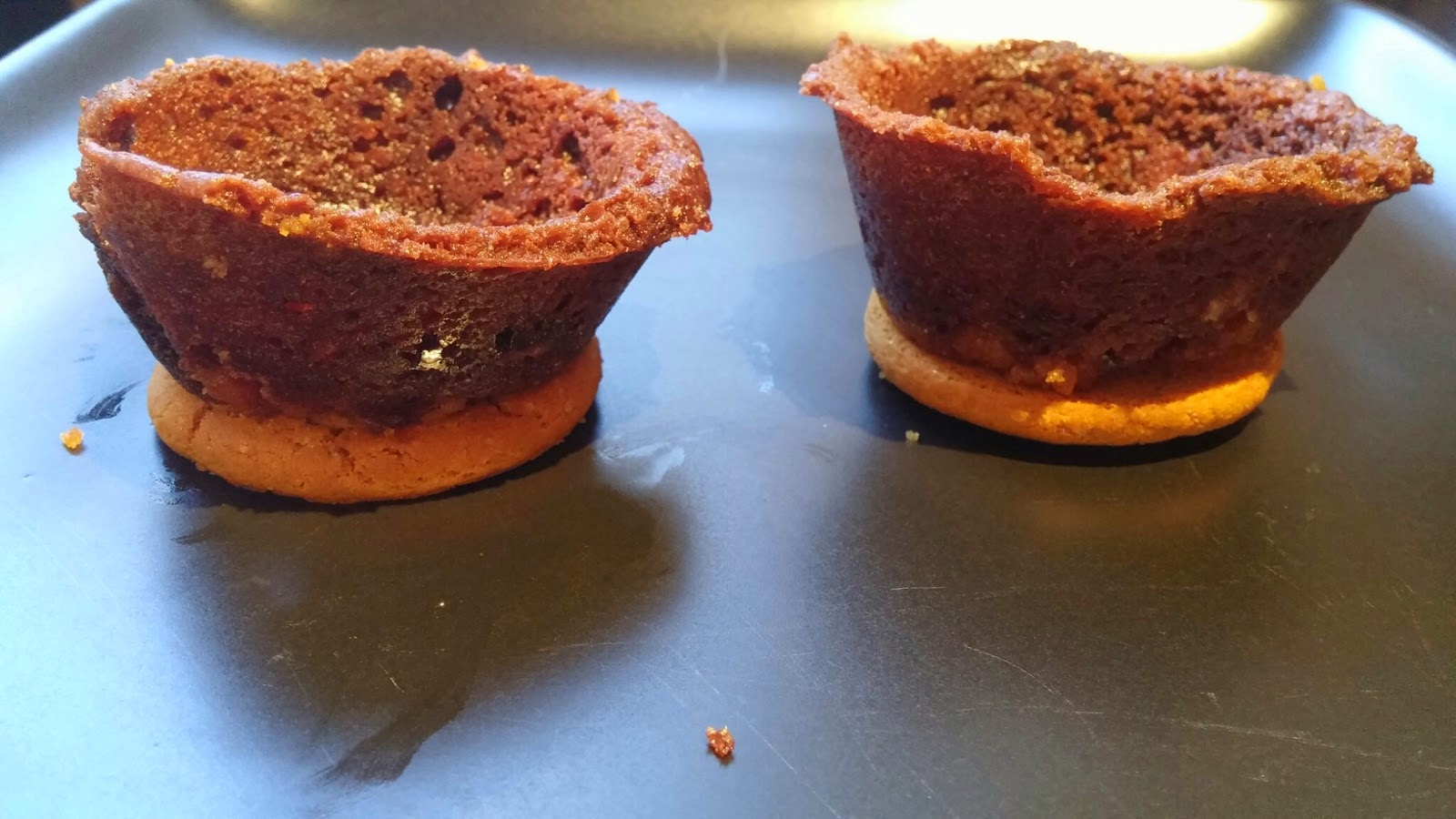 making brownie cups more stable