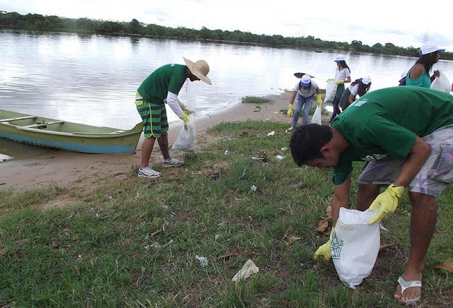Mutirão de limpeza no rio São Francisco encerra Semana da Água promovida pela e IMA/AL