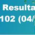 Resultado Timemania/Concurso 1102 (04/11/17)