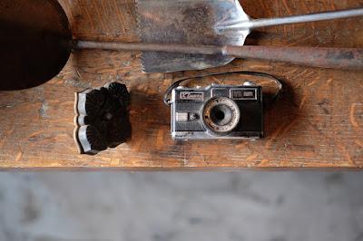 長野市東町 古道具 そらしま 古いカメラ