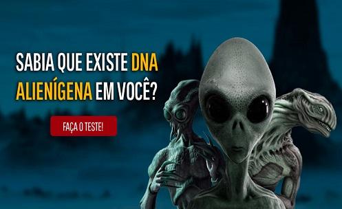 Sabia que existe DNA alienígena em você? Faça o teste aqui e encontre a sua linhagem!