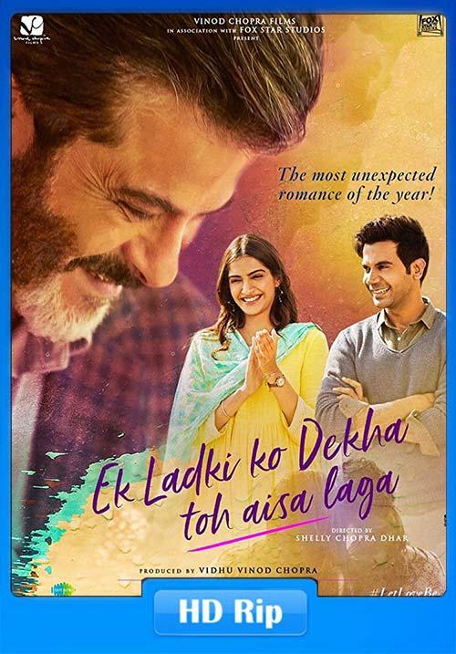Ek Ladki Ko Dekha Toh Aisa Laga 2019 Hindi 720p x264 | 480p 300MB | 100MB HEVC Poster