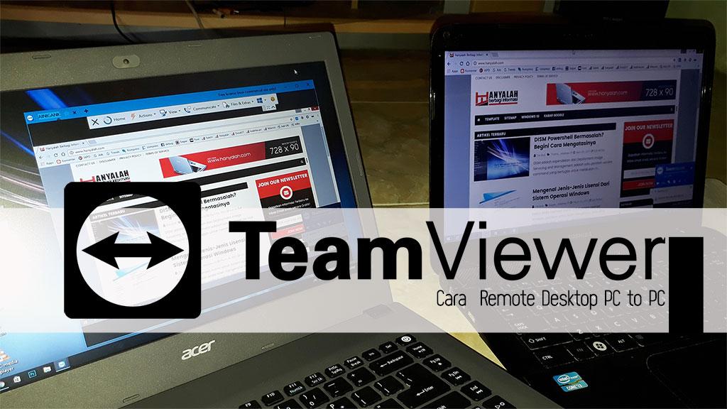 Panduan Mudah dan Cepat Menggunakan TeamViewer