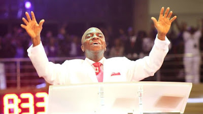 Image result for picture of oyedepo praying