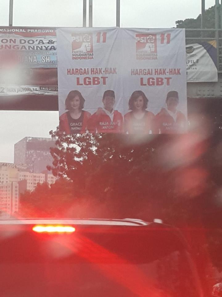 Pihak Sekolah Sudah Layangkan Keberatan Spanduk PSI Pro LGBT, Tapi Hasilnya Begini
