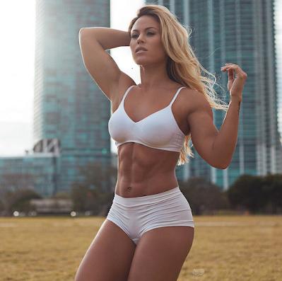 Tamra Dae fitness no Instagram