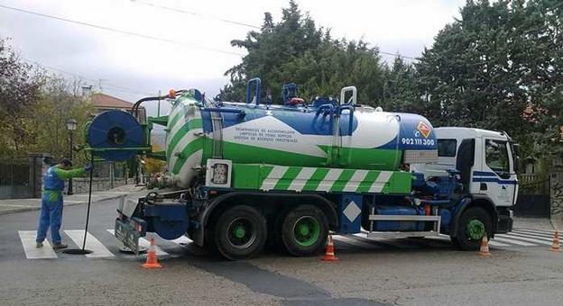 Desatrancos Madrid camiones cuba
