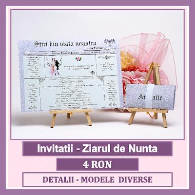 http://www.bebestudio11.com/2017/01/invitatii-nunta-ziarul-de-nunta.html