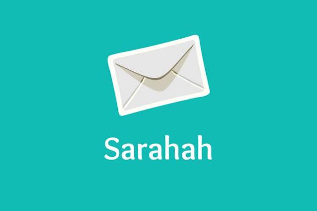 apa itu sarahah?