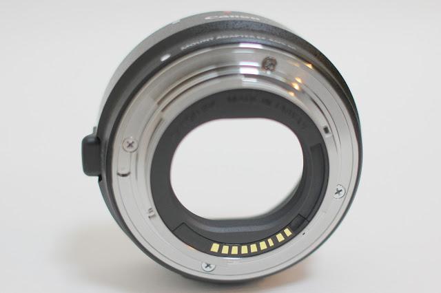 Canon EF-EOS M轉接環開箱測試