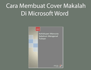 cover makalah di microsoft word