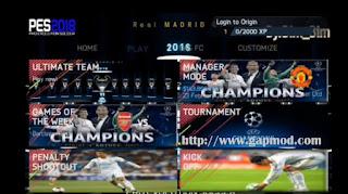Download FIFA 14 Super Mod PES 2018 Ultimate v1.2 by Bim Bim Apk + Data Obb [Fixed]