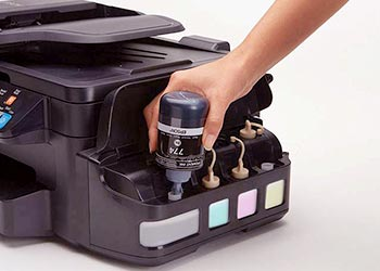 Epson WorkForce ET-4550 ink refill
