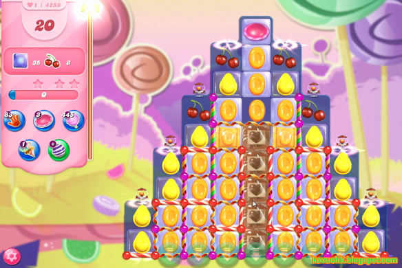 Candy Crush Saga level 4259