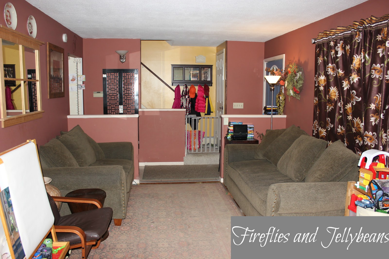 Fireflies And Jellybeans Room Makeover With World Market