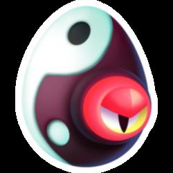 Apariencia del Dragón Yin de huevo.