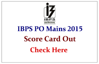 IBPS PO V Mains Score Card Released- Check Here