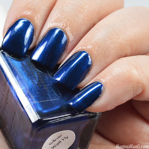 Blue Eyed Girl Lacquer Believin' Won't Fly swatches