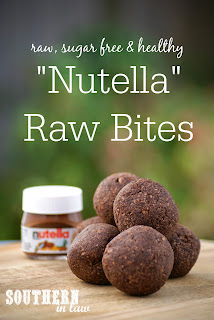 Healthy Nutella Bliss Balls Recipe