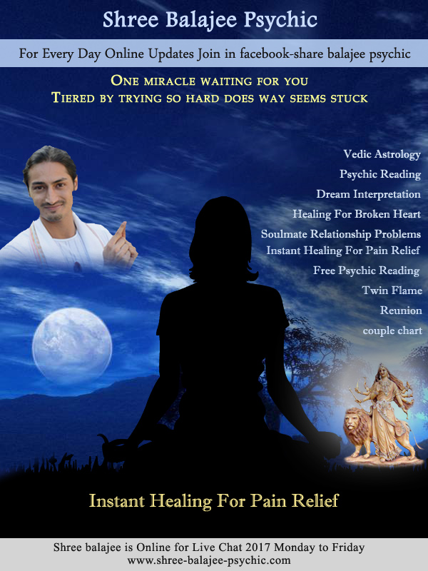Shree Balajee Psychic: Instant Healing For Pain Relief
