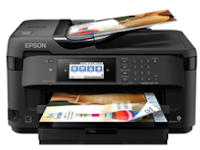 Epson WorkForce WF-7710 Wireless Printer Setup