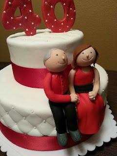 Significado de aniversario de bodas 40 años