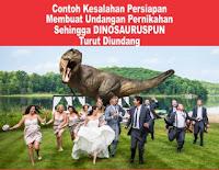 Contoh Kurang Persiapan dalam pemesanan Undangan pernikahan
