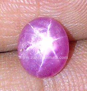 Batu Permata Ruby Star - ZP 593