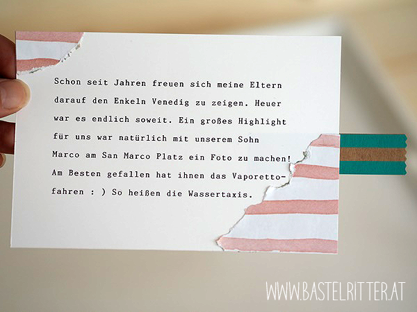 Bärchengruß Stampin up Bastelritter Cest la Schnipselritter