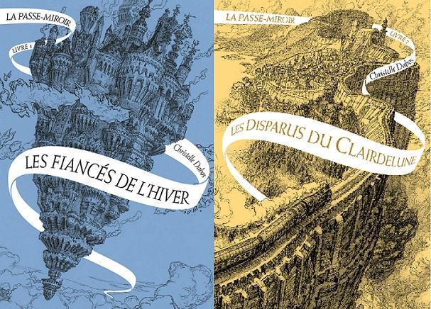 Léa Touch Book La Passe Miroir Tome 1 Tome 2 Christelle Dabos