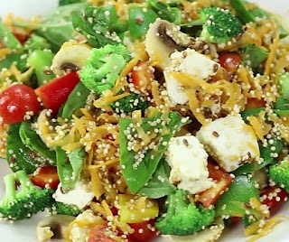 how to make power packed salad at home